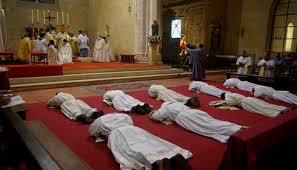 Ordinationen im männlichen Zweig